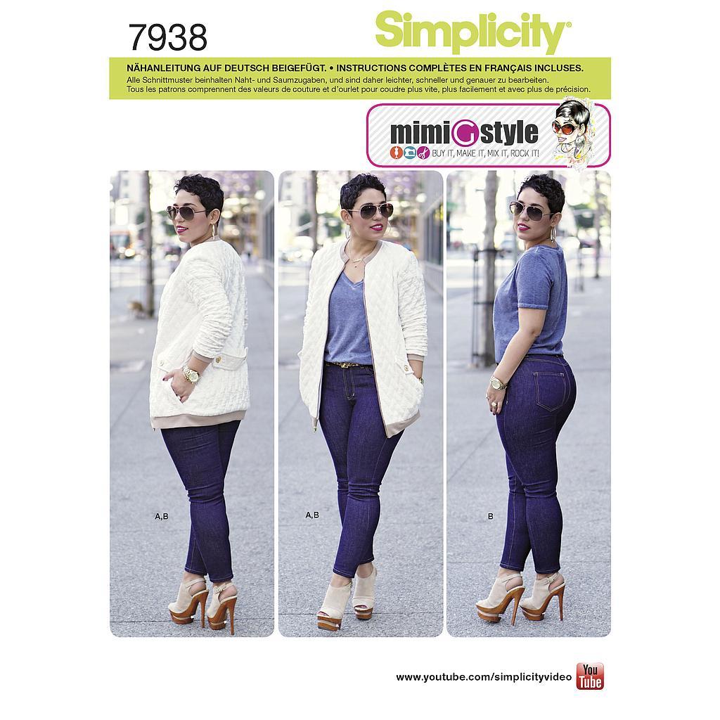 Et Pantalon Simplicity Veste 7938 Patron Ensemble gyYvb6f7
