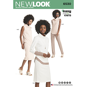 Patron New Look 6530 Ensemble dame