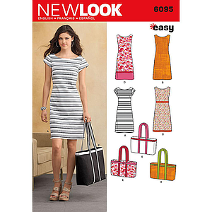 Patron New Look 6095 robe