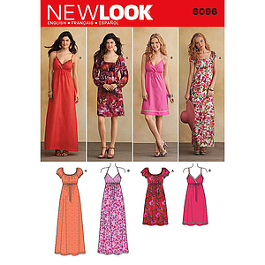 Patron New Look 6096 robe