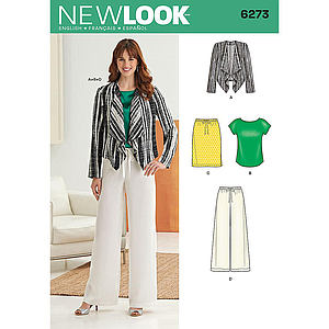 Patron New Look 6273 Ensemble femmes