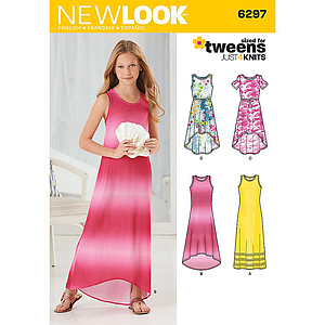 Patron New Look 6297 Robe longue
