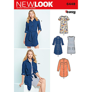 Patron New Look 6449 Robe